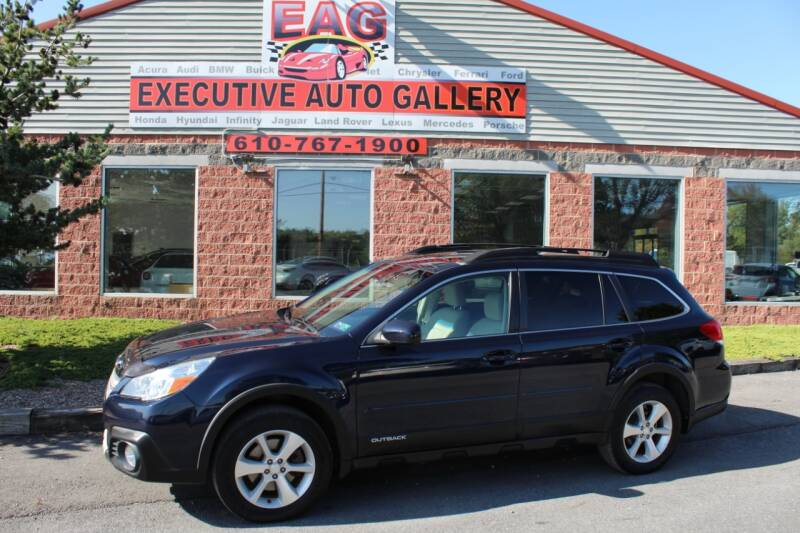 2014 Subaru Outback for sale at EXECUTIVE AUTO GALLERY INC in Walnutport PA