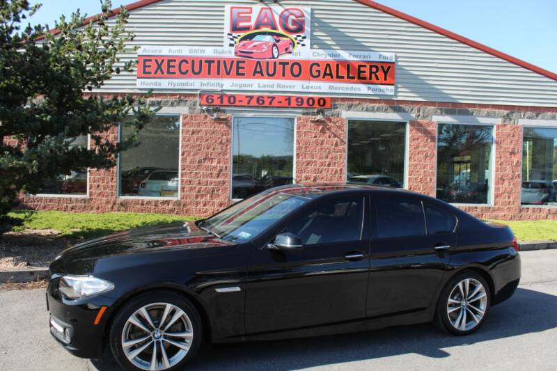 2016 BMW 5 Series for sale at EXECUTIVE AUTO GALLERY INC in Walnutport PA