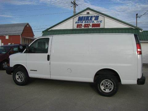 2004 GMC Savana Cargo for sale in Dale IN