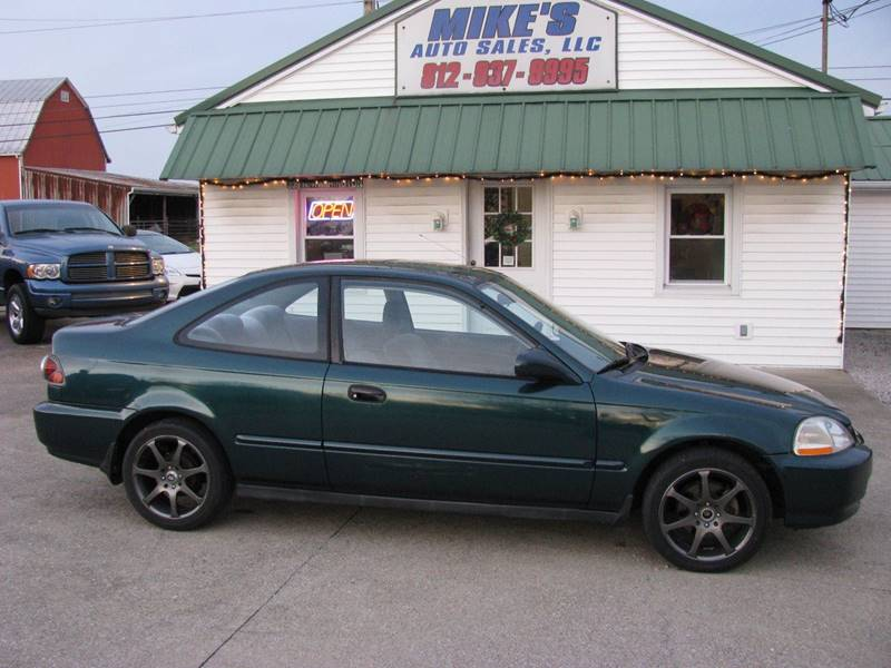 1997 Honda Civic EX 2dr Coupe In Dale IN - Mikes Auto Sales LLC