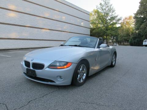2003 BMW Z4 for sale at Best Import Auto Sales Inc. in Raleigh NC