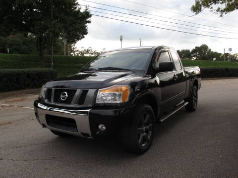 2012 Nissan Titan for sale at Best Import Auto Sales Inc. in Raleigh NC