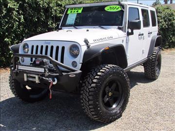2014 Jeep Wrangler Unlimited for sale in Redlands, CA