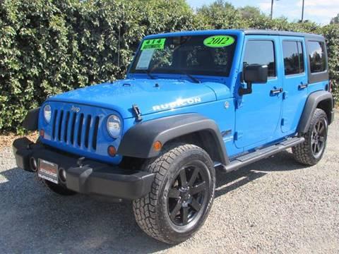 2012 Jeep Wrangler Unlimited for sale in Redlands, CA