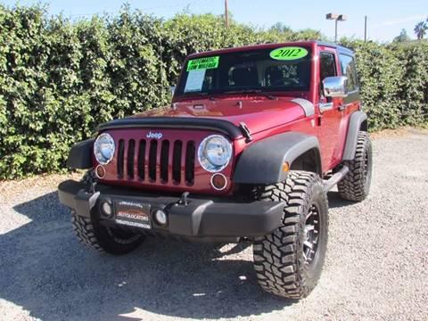 2012 Jeep Wrangler for sale in Redlands, CA