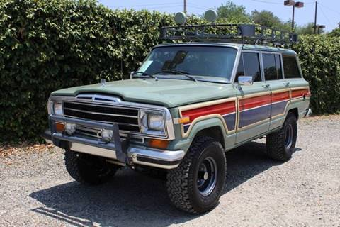 1987 Jeep Grand Wagoneer for sale in Redlands, CA