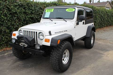 2006 Jeep Wrangler for sale in Redlands, CA