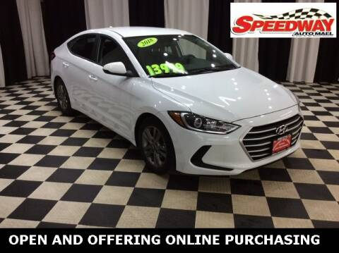 2018 Hyundai Elantra for sale at SPEEDWAY AUTO MALL INC in Machesney Park IL