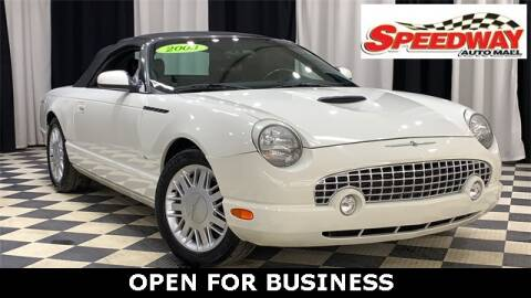 2003 Ford Thunderbird for sale at SPEEDWAY AUTO MALL INC in Machesney Park IL