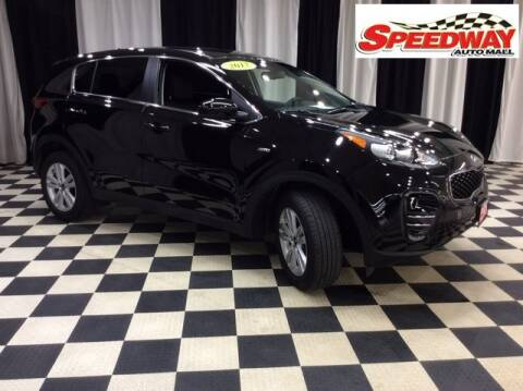 2017 Kia Sportage for sale at SPEEDWAY AUTO MALL INC in Machesney Park IL