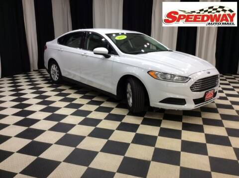 2015 Ford Fusion for sale at SPEEDWAY AUTO MALL INC in Machesney Park IL