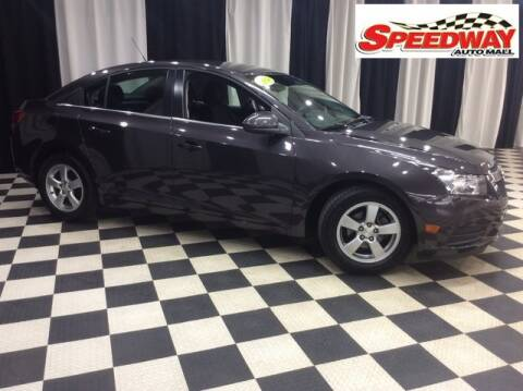2014 Chevrolet Cruze for sale at SPEEDWAY AUTO MALL INC in Machesney Park IL