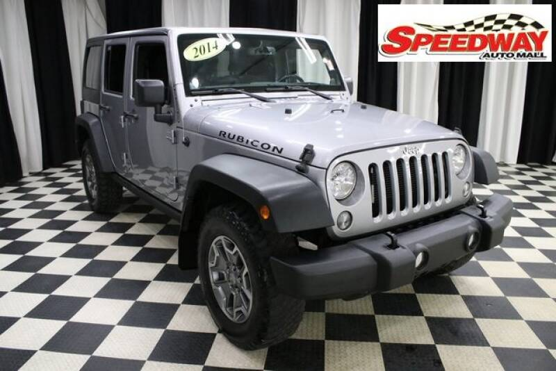 2014 Jeep Wrangler Unlimited for sale at SPEEDWAY AUTO MALL INC in Machesney Park IL