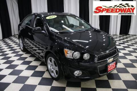 2015 Chevrolet Sonic for sale at SPEEDWAY AUTO MALL INC in Machesney Park IL