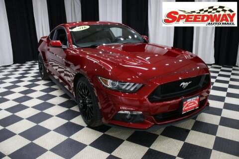 2016 Ford Mustang for sale at SPEEDWAY AUTO MALL INC in Machesney Park IL