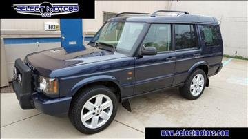 2003 Land Rover Discovery for sale in Plymouth, MI
