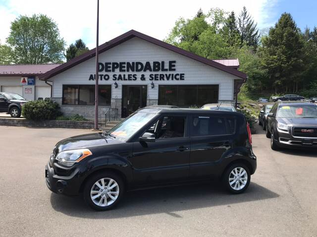 2012 Kia Soul for sale at Dependable Auto Sales and Service in Binghamton NY