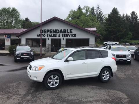 2007 Toyota RAV4 for sale at Dependable Auto Sales and Service in Binghamton NY