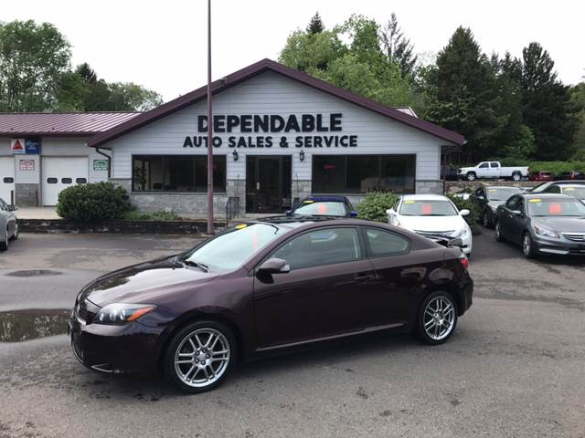 2008 Scion tC for sale at Dependable Auto Sales and Service in Binghamton NY