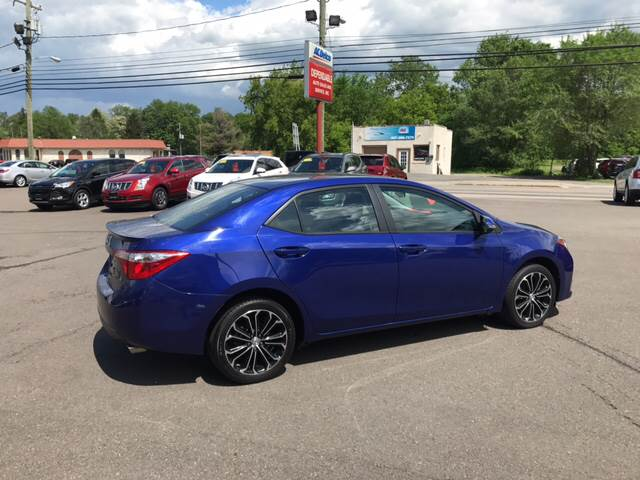 2014 Toyota Corolla for sale at Dependable Auto Sales and Service in Binghamton NY