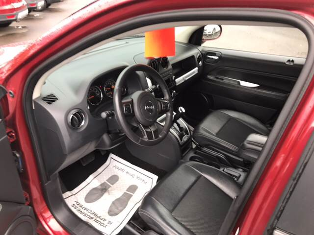 2014 Jeep Compass for sale at Dependable Auto Sales and Service in Binghamton NY