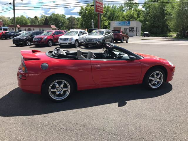 2003 Mitsubishi Eclipse Spyder for sale at Dependable Auto Sales and Service in Binghamton NY