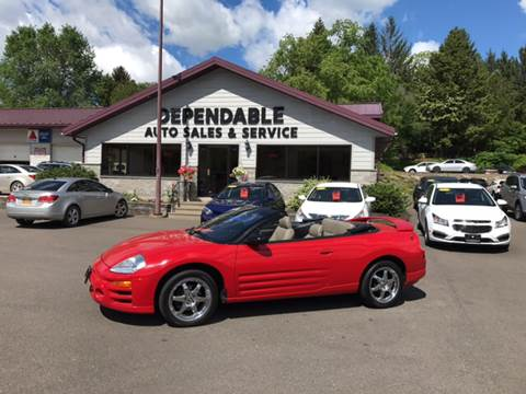 2003 Mitsubishi Eclipse Spyder for sale in Binghamton, NY