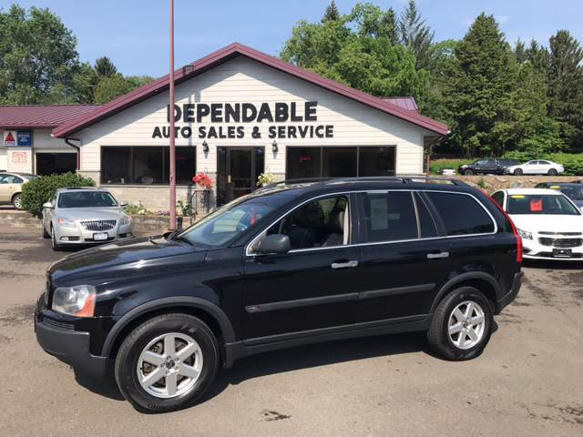 2006 Volvo XC90 for sale at Dependable Auto Sales and Service in Binghamton NY