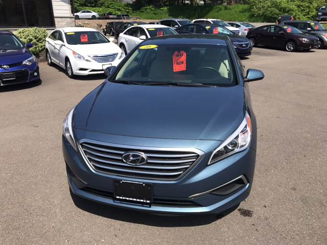 2016 Hyundai Sonata for sale at Dependable Auto Sales and Service in Binghamton NY