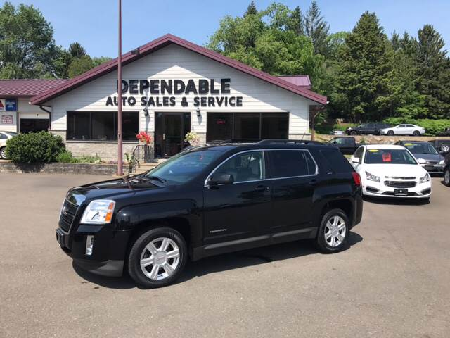 2014 GMC Terrain for sale at Dependable Auto Sales and Service in Binghamton NY