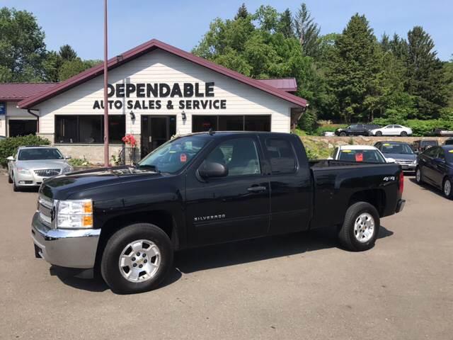 2013 Chevrolet Silverado 1500 for sale at Dependable Auto Sales and Service in Binghamton NY