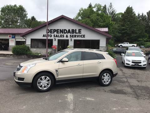 2011 Cadillac SRX for sale at Dependable Auto Sales and Service in Binghamton NY