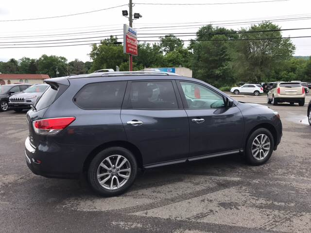 2014 Nissan Pathfinder for sale at Dependable Auto Sales and Service in Binghamton NY