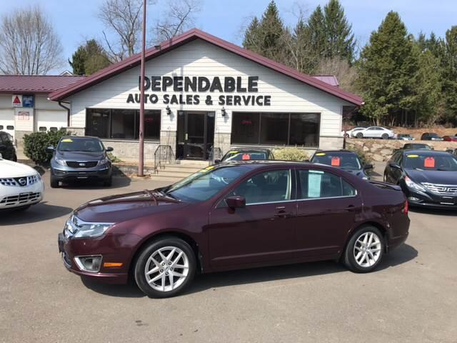2012 Ford Fusion for sale at Dependable Auto Sales and Service in Binghamton NY