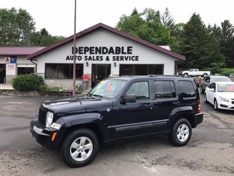 2011 Jeep Liberty for sale at Dependable Auto Sales and Service in Binghamton NY