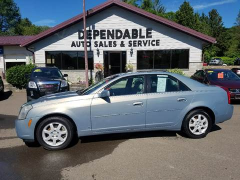 2007 Cadillac CTS for sale at Dependable Auto Sales and Service in Binghamton NY