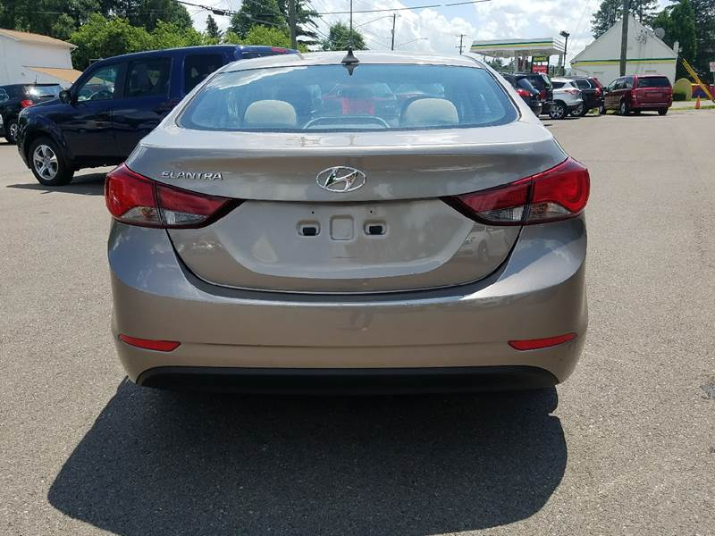 2016 Hyundai Elantra for sale at Dependable Auto Sales and Service in Binghamton NY