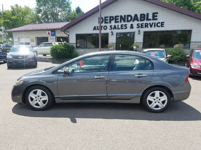 2010 Honda Civic for sale at Dependable Auto Sales and Service in Binghamton NY