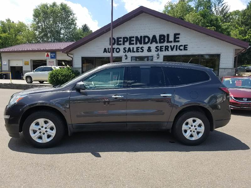 2014 Chevrolet Traverse for sale at Dependable Auto Sales and Service in Binghamton NY