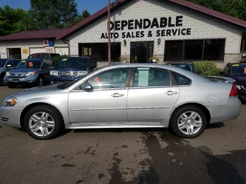 2012 Chevrolet Impala for sale at Dependable Auto Sales and Service in Binghamton NY