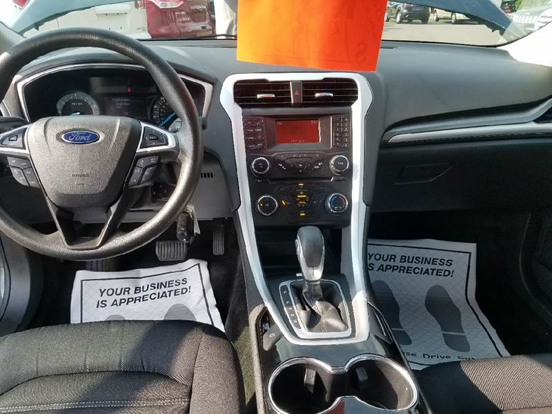 2015 Ford Fusion for sale at Dependable Auto Sales and Service in Binghamton NY