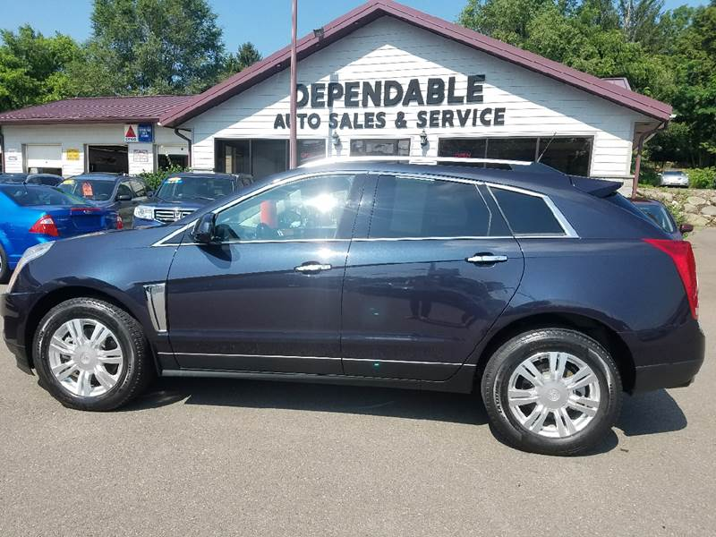 2014 Cadillac SRX for sale at Dependable Auto Sales and Service in Binghamton NY