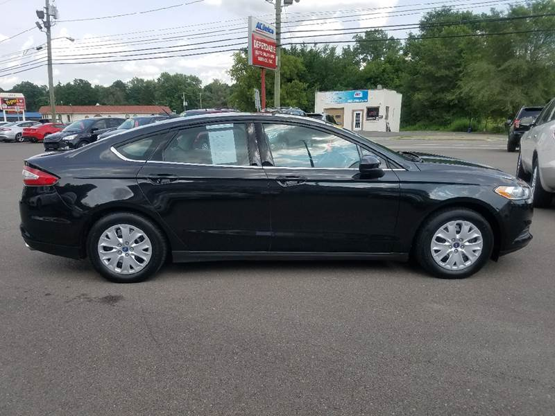 2013 Ford Fusion for sale at Dependable Auto Sales and Service in Binghamton NY