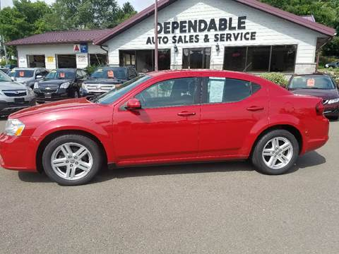 2012 Dodge Avenger for sale at Dependable Auto Sales and Service in Binghamton NY