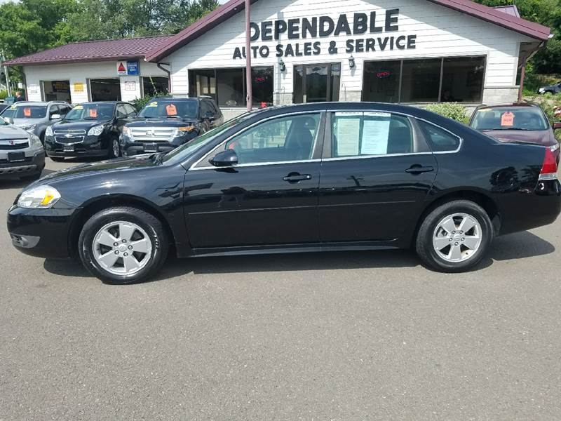2011 Chevrolet Impala for sale at Dependable Auto Sales and Service in Binghamton NY