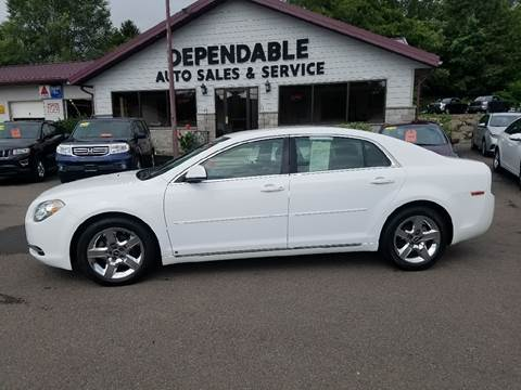 2010 Chevrolet Malibu for sale at Dependable Auto Sales and Service in Binghamton NY