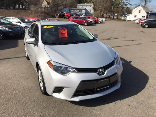 2015 Toyota Corolla for sale at Dependable Auto Sales and Service in Binghamton NY