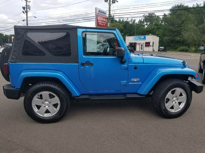 2010 Jeep Wrangler for sale at Dependable Auto Sales and Service in Binghamton NY