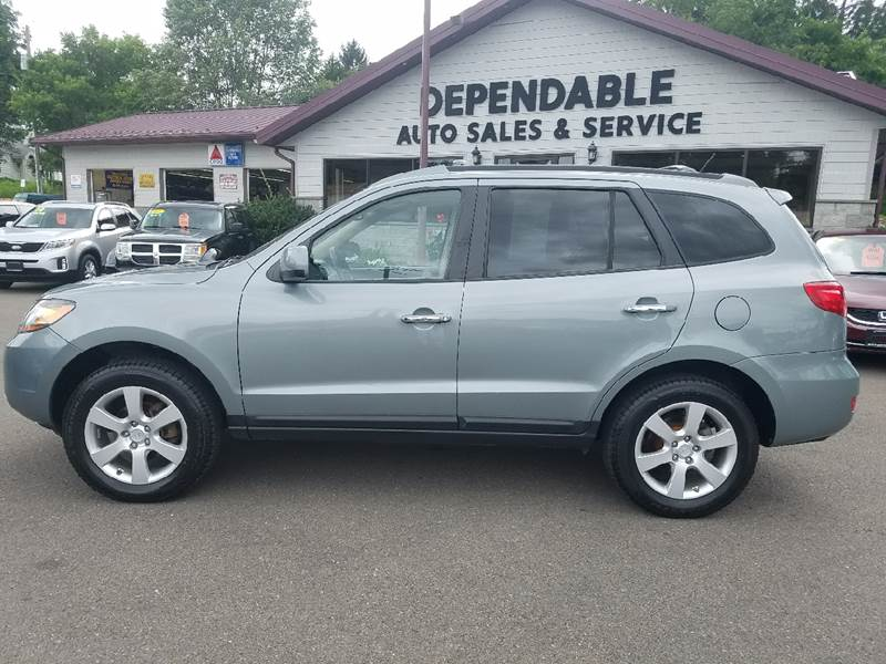 2009 Hyundai Santa Fe for sale at Dependable Auto Sales and Service in Binghamton NY