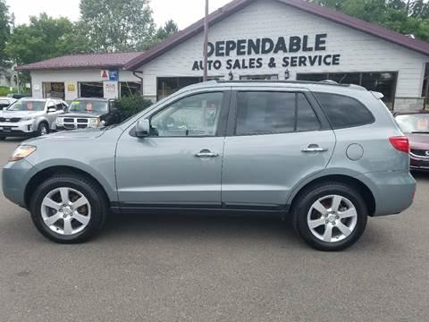 2009 Hyundai Santa Fe for sale at Dependable Auto Sales and Service in Binghamton NY